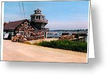 The Lobster Dock I Greeting Card