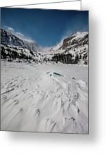 The Loch Under Snow Greeting Card