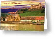 The Lock On The Hill Greeting Card