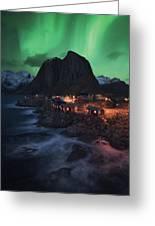 The Lofoten Dream Greeting Card