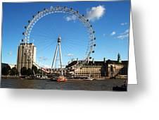 The London Eye 2 Greeting Card