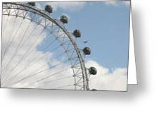 The London Eye Greeting Card