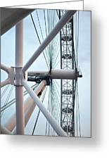 The London Eye Greeting Card by Martin Howard
