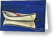 The Lone Boat Greeting Card