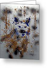 The Lone Wolf  Canis Lupus Greeting Card