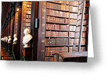 The Long Room Greeting Card