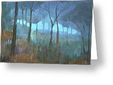 The Lost Trail Greeting Card