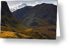 The Lost Valley Glencoe Greeting Card