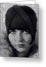 The Louise Brooks Tattoo Take 2 Greeting Card