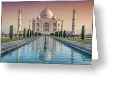 The Love Of Taj Greeting Card