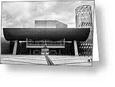The Lowry Art And Entertainment Complex Salford Quays Manchester Uk Greeting Card