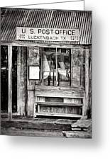 The Luckenbach Post Office Greeting Card