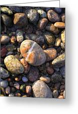 The Lucky Rock Greeting Card