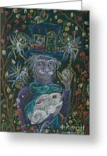 The Maddening Hatter Greeting Card
