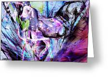 The Magic Of Horses Greeting Card