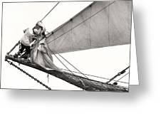 The Magic Of Sail Greeting Card
