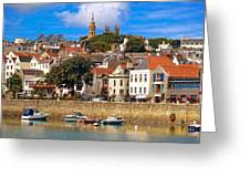 The Magic Of St. Peter Port In Guernsey Greeting Card