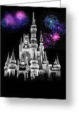 The Magical Kingdom Castle Greeting Card