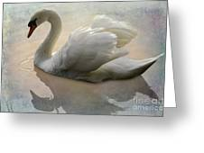 The Magical Swan  Greeting Card