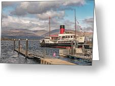The Maid Of The Loch Greeting Card