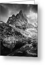 The Majesty Of Mountains Greeting Card