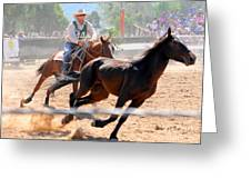 The Man From Snowy River Winner Greeting Card