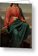 The Man Of Sorrows Greeting Card by Sir Joseph Noel Paton