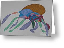 The Many Legged Octopus Of Puget Sound Greeting Card