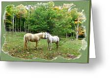 The Mares Watch Greeting Card