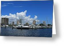 The Marina Greeting Card