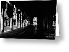 The Market Hall Greeting Card