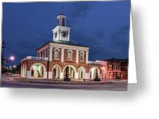 The Market House Greeting Card