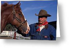 The Marlboro Man In Ocala Florida Greeting Card
