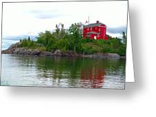 The Marquette Lighthouse Greeting Card
