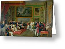 The Marriage Of Eugene De Beauharnais Greeting Card by Francois Guillaume Menageot