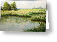 The Marshes Greeting Card