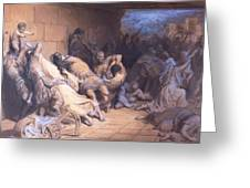 The Martyrdom Of The Holy Innocents 1868 Greeting Card