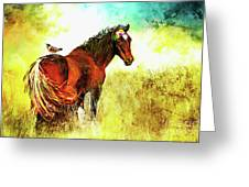 The Marvelous Mare Greeting Card