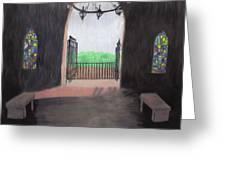 The Mausoleum Greeting Card