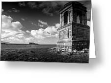 The Mausoleum At Downhill Demense Greeting Card