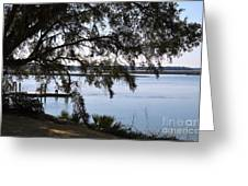 The May River In Bluffton Greeting Card