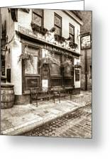 The Mayflower Pub London Vintage Greeting Card