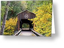 The Mckee Bridge Greeting Card