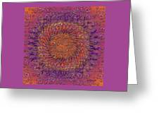 The Meditation Of Souls Greeting Card