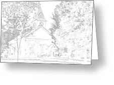 The Meeting House Greeting Card