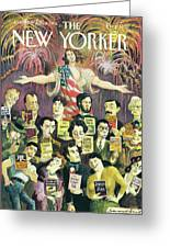 New Yorker June 27th, 1994 Greeting Card