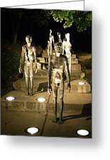The Memorial To The Victims Of Communism Greeting Card