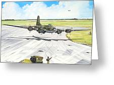 The Memphis Belle Greeting Card by Marc Stewart