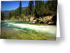 The Merced River In Yosemite Greeting Card