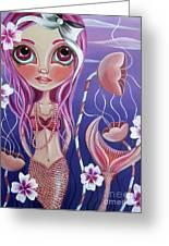 The Mermaid's Garden Greeting Card